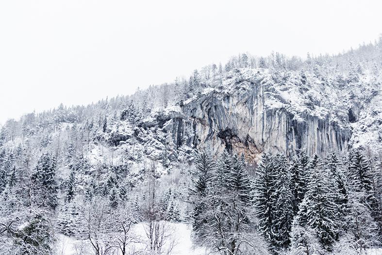 Winterhochzeit berge
