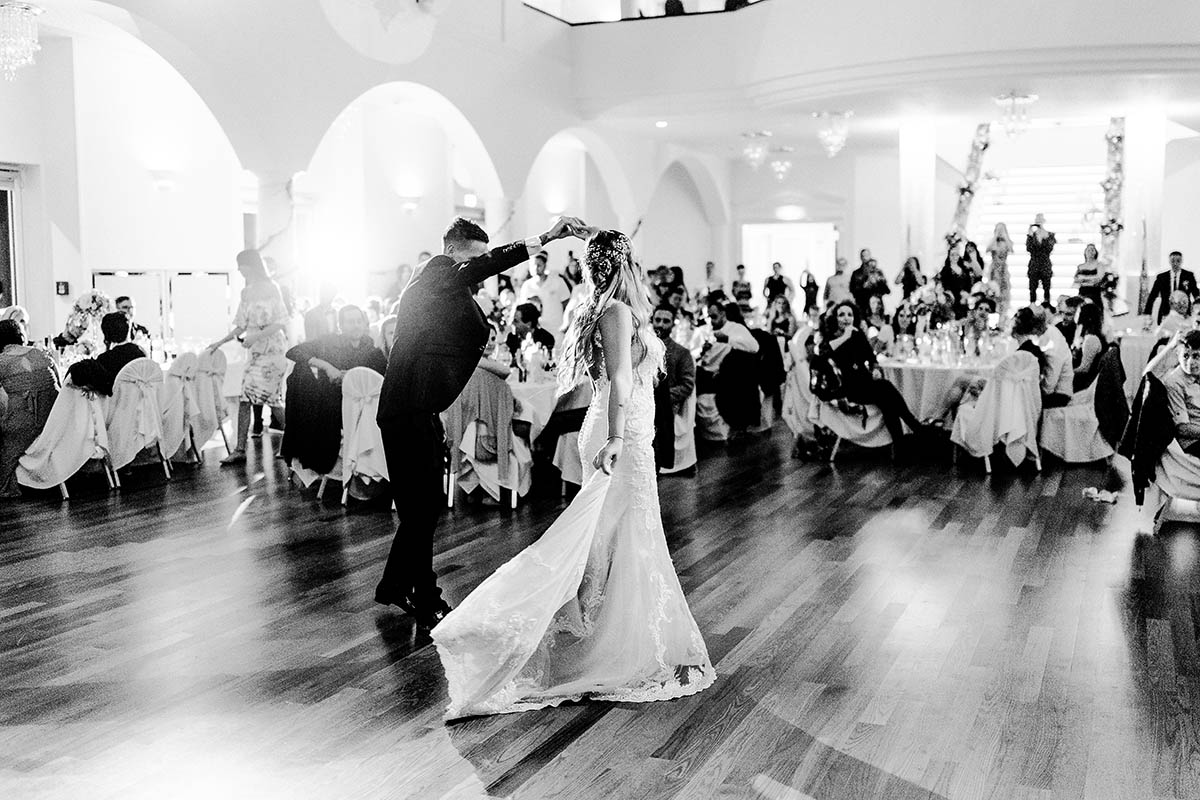 First Dance Vintagehochzeit Niederösterreich Umgebung Wien Eventcenter Leobersdorf Hochzeitslocation Wien Hochzeitsfotograf