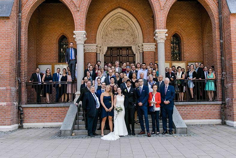 Gruppenfoto Hochzeit Wien Hochzeitsfotograf