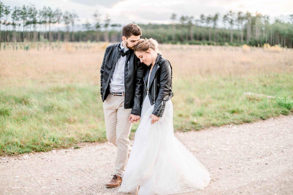 Bohohochzeit Lederjacke heiraten Wien Hochzeit Mödling heiraten