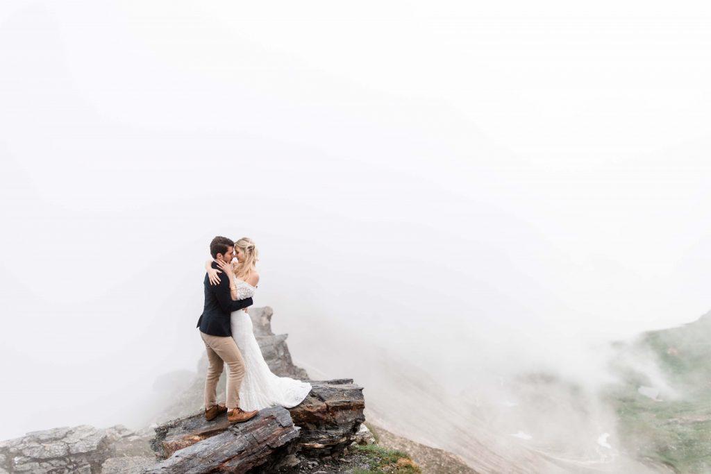Elopement in den Bergen heiraten alleine Salzburg Hochzeit Großglockner
