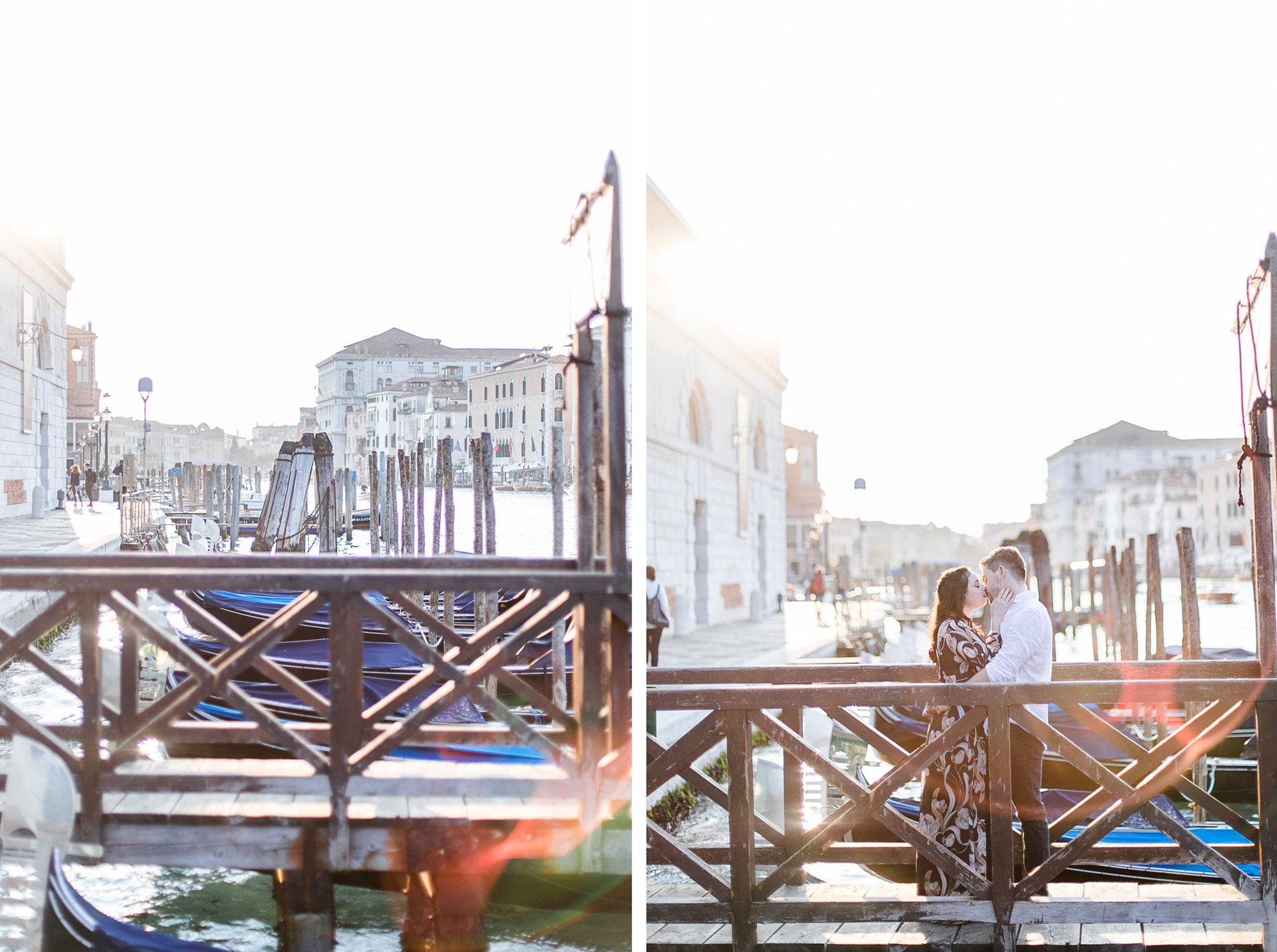 verliebtes Paar Venedig Paarfotoshooting in Italien Verlobungsshooting