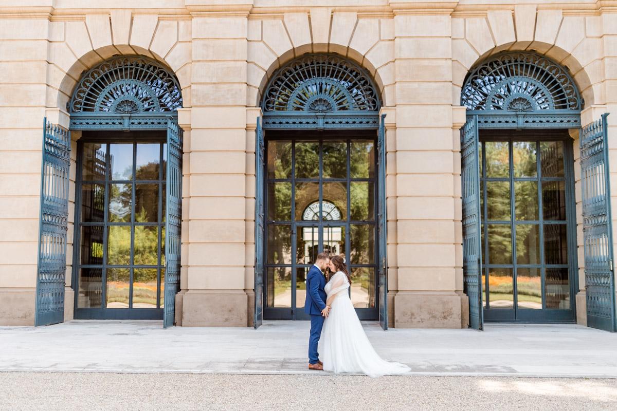 Park Liechtenstein Schloss Liechtenstein Brautpaar Hochzeit