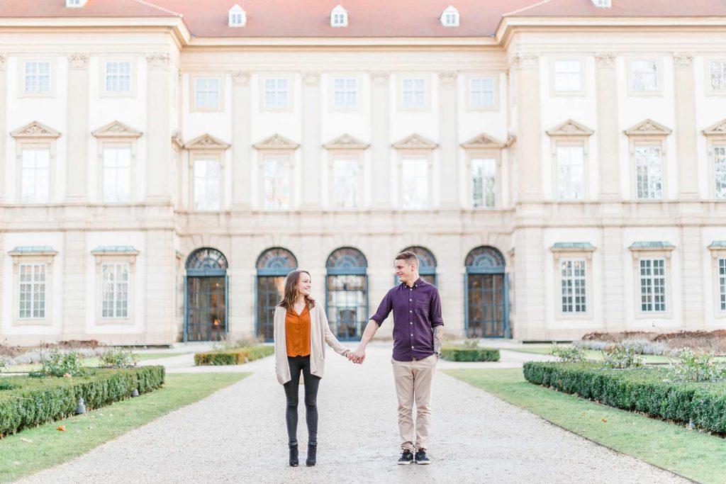 Gartenpalais Liechtenstein Paarshooting Wien