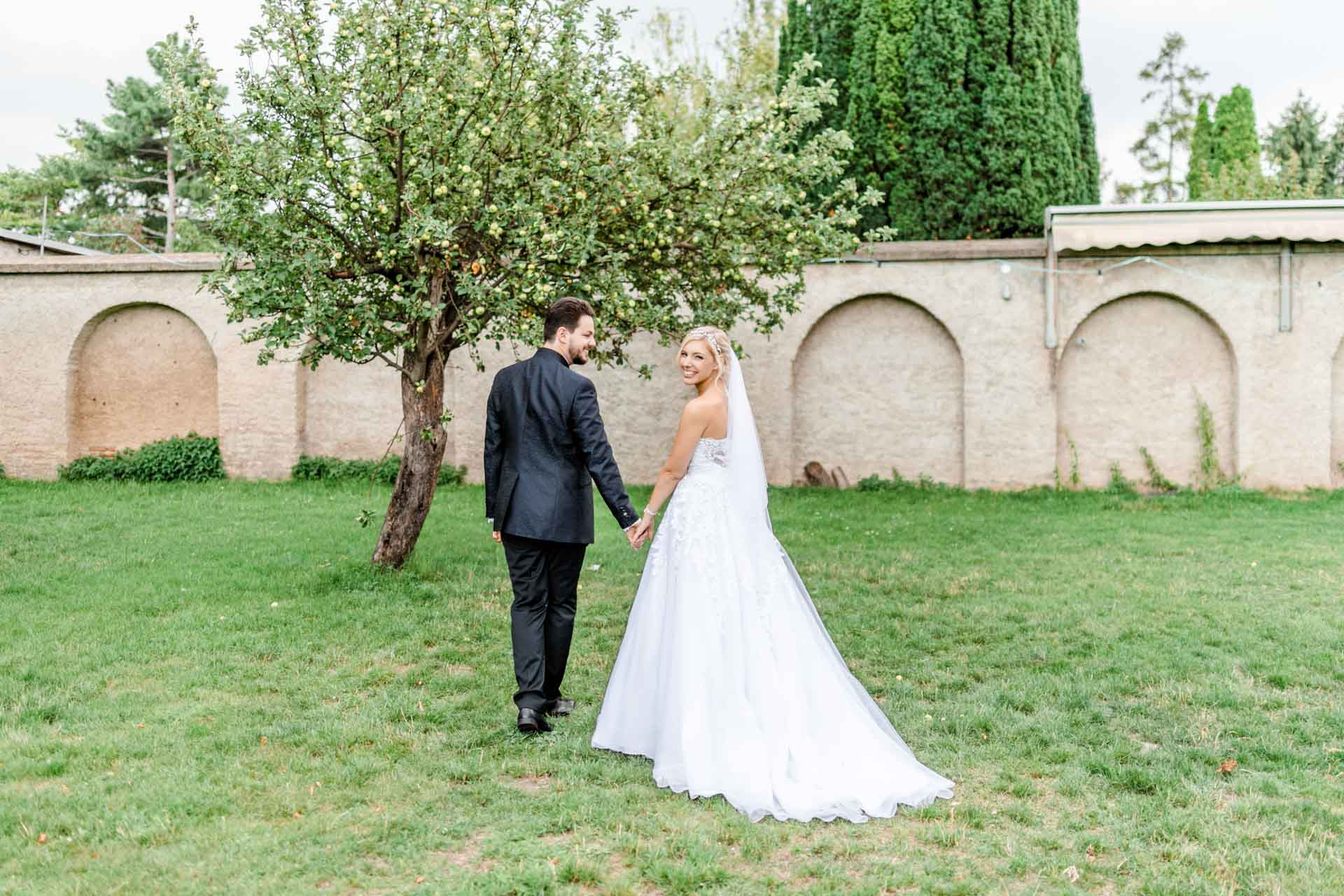 Hochzeit im Stranddomizil heiraten Mühlwasser Hochzeitsfotograf Wien