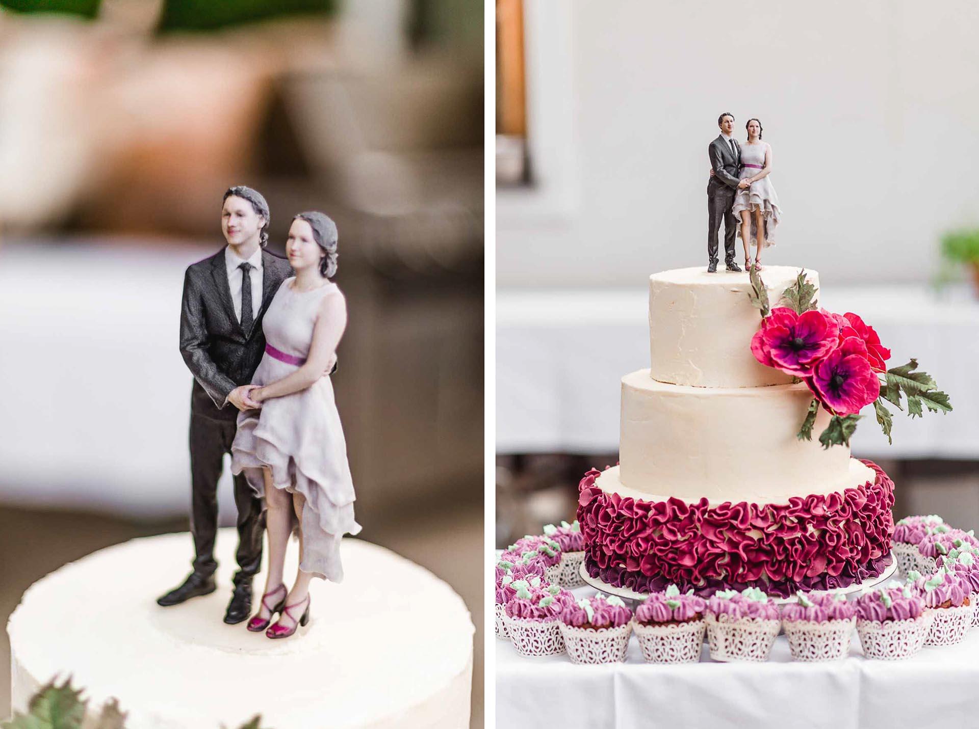 Hochzeit in Niederösterreich Hochzeitsfotos im Wald Scheunenhochzeit Hochzeitsfotograf Bonkawirt Zeremonie im Freien