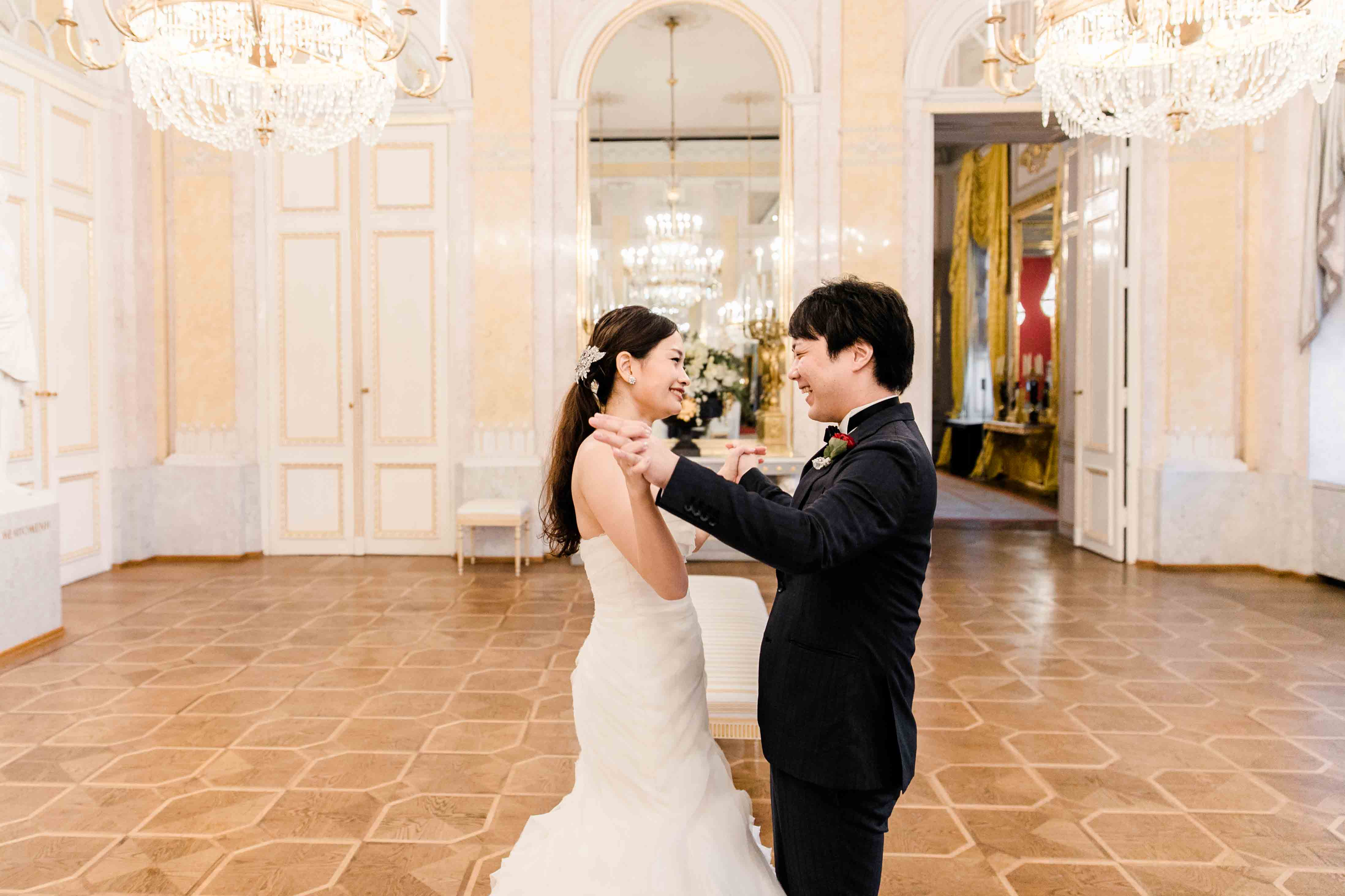 Prinzessinnen Boho Hochzeit Albertina heiraten Wien Hochzeitsfotograf Hochzeit in der Albertina