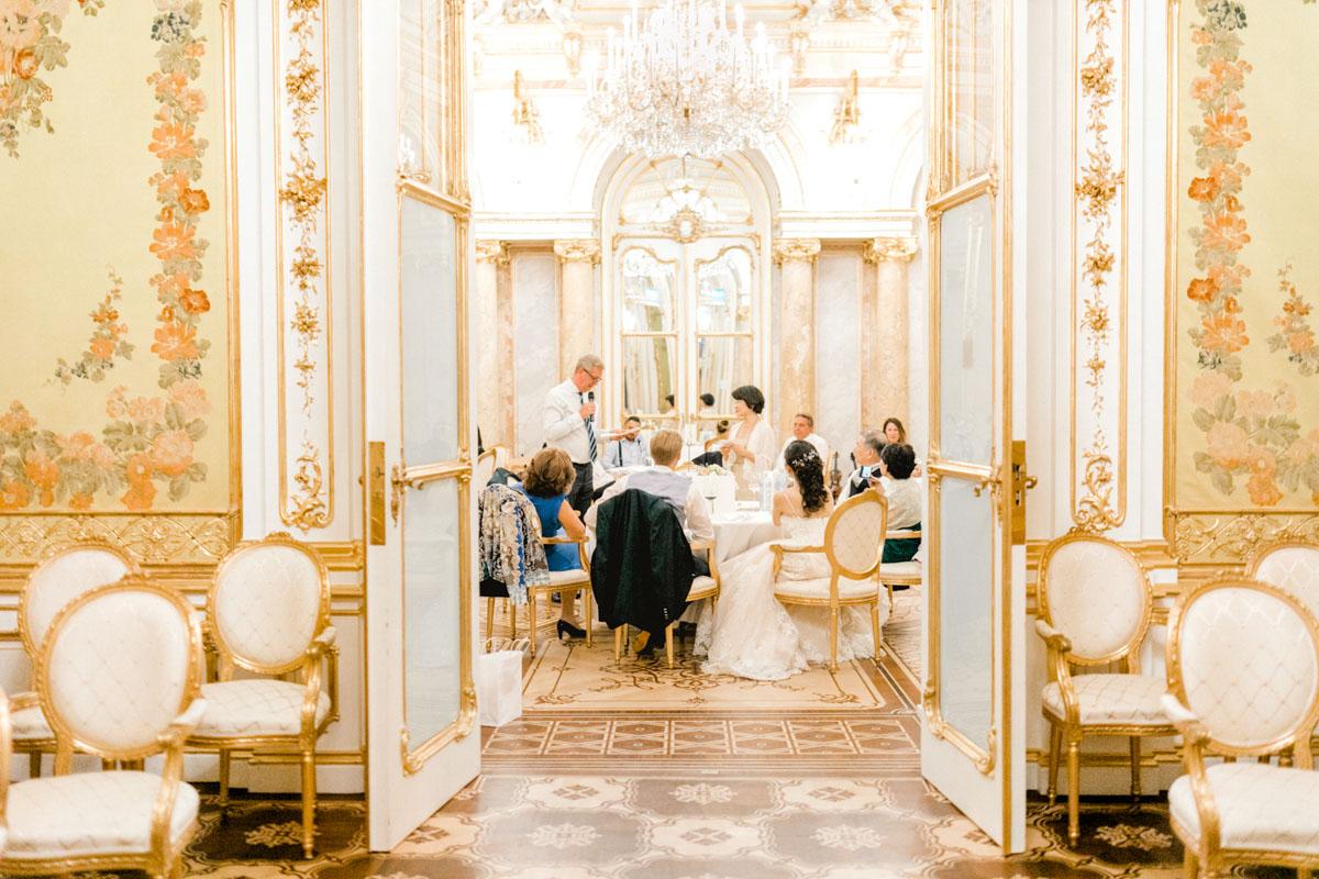 Hochzeit palais Coburg Wien heiraten Prinzessinnenhochzeit