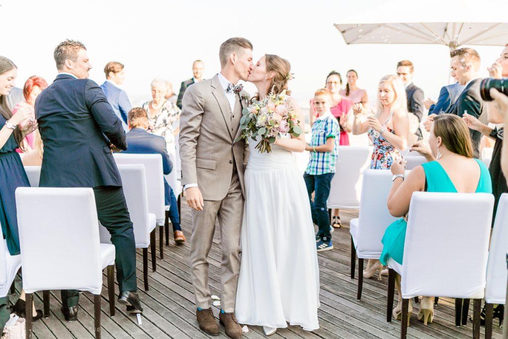 Hochzeit Kahlenberg Ellipse heiraten Kahlenberg Hochzeitsfotograf Wien Standesamtliche Hochzeit Hochzeitszeremonie Hochzeitsauszug