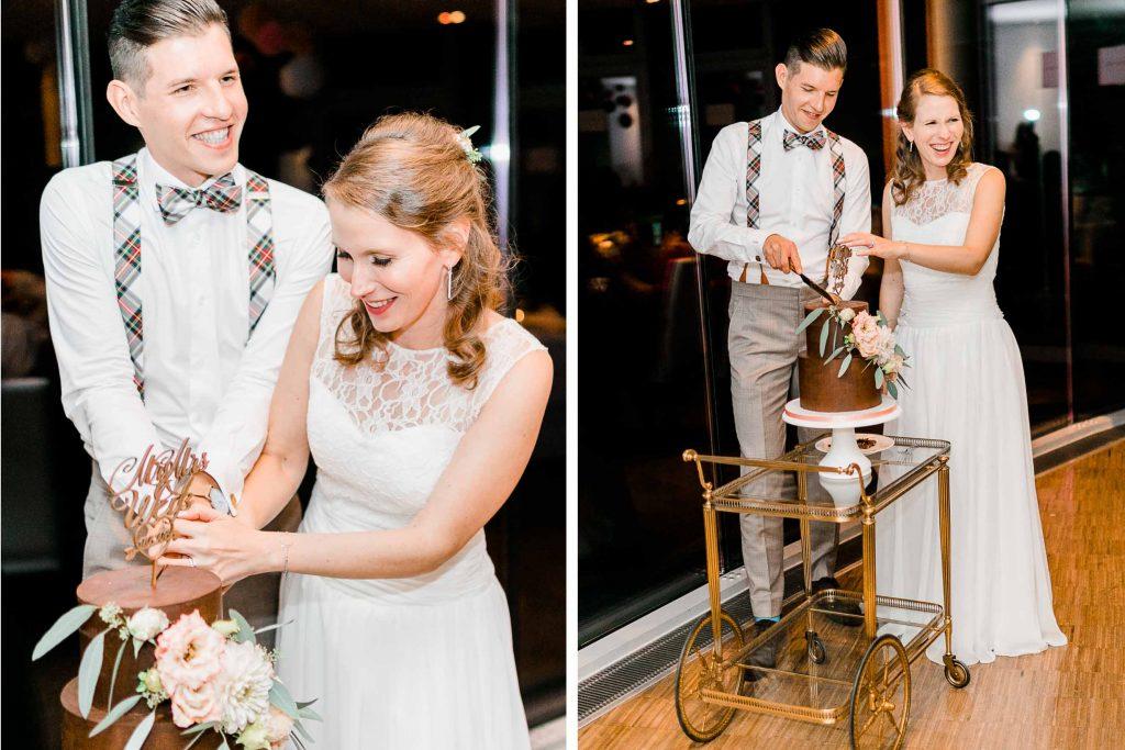 Hochzeit Kahlenberg Ellipse heiraten Kahlenberg Hochzeitsfotograf Wien Standesamtliche Hochzeit Servierwagen Hochzeitstorte