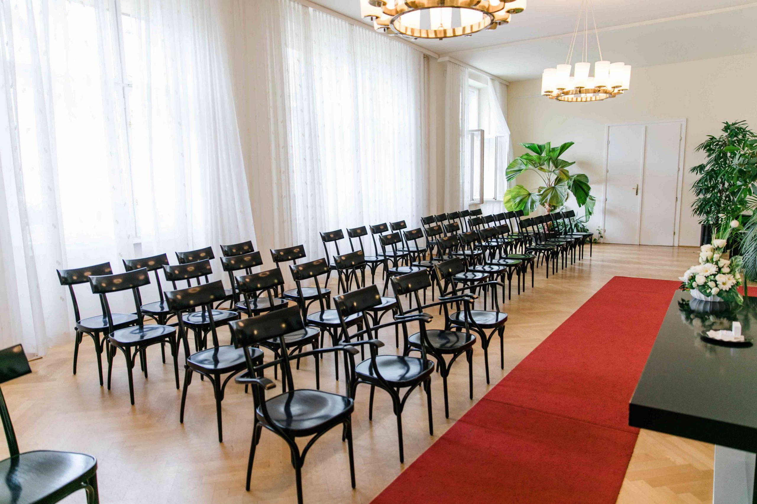 Amtshaus Standesamt 1080 Josefstadt heiraten innen
