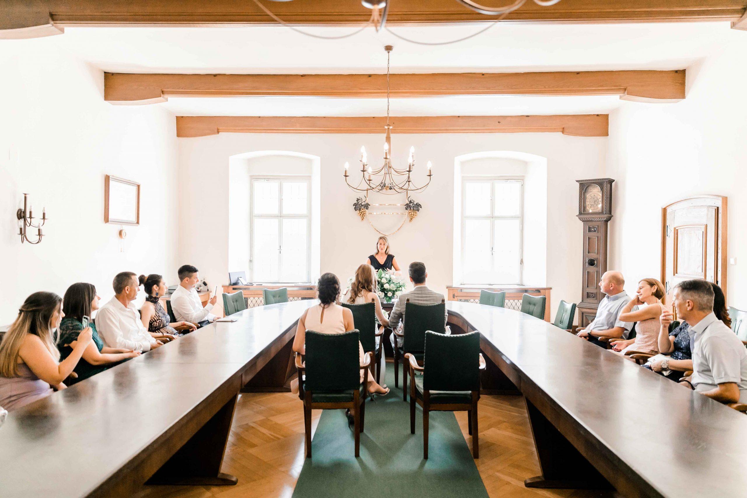Heiraten Standesamt Gumpoldskirchen Rathaus Hochzeit Mödling