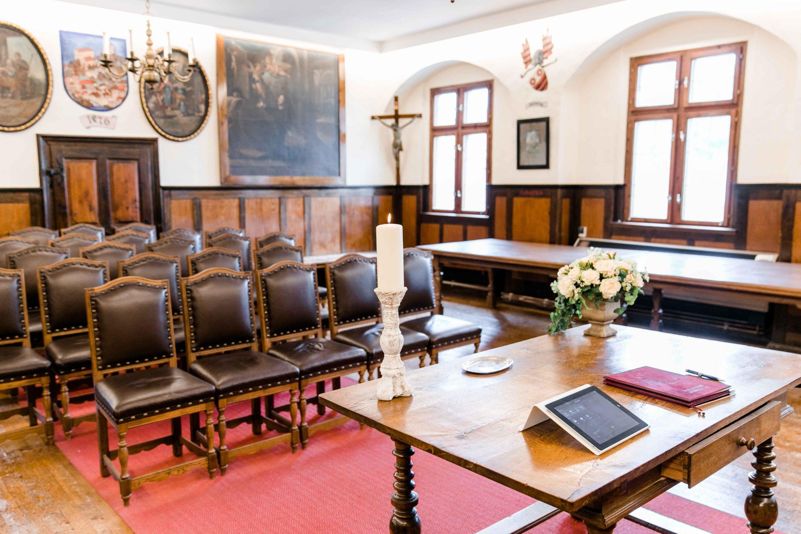 Hochzeit Standesamt Rathaus Dürnstein